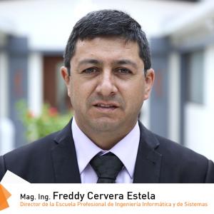 Mag. Ing. Freddy Cervera Estela