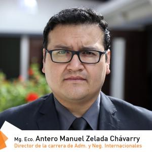 Mg. Eco. Antero Manuel Zelada Chávarry