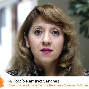Mg. Rocío Ramirez Sánchez