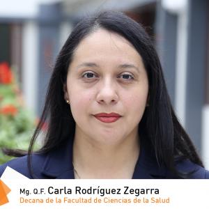 Mg. Q.F. Carla Rodríguez Zegarra
