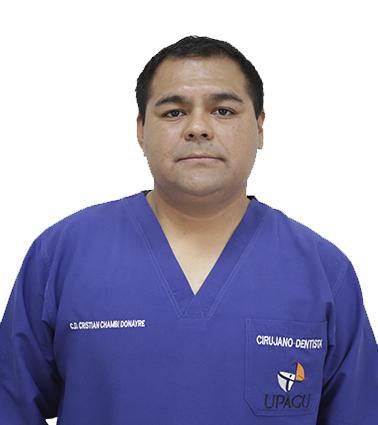 Cristian Chambi – Doc. Estomatología – Fac. Ciencias de la Salud