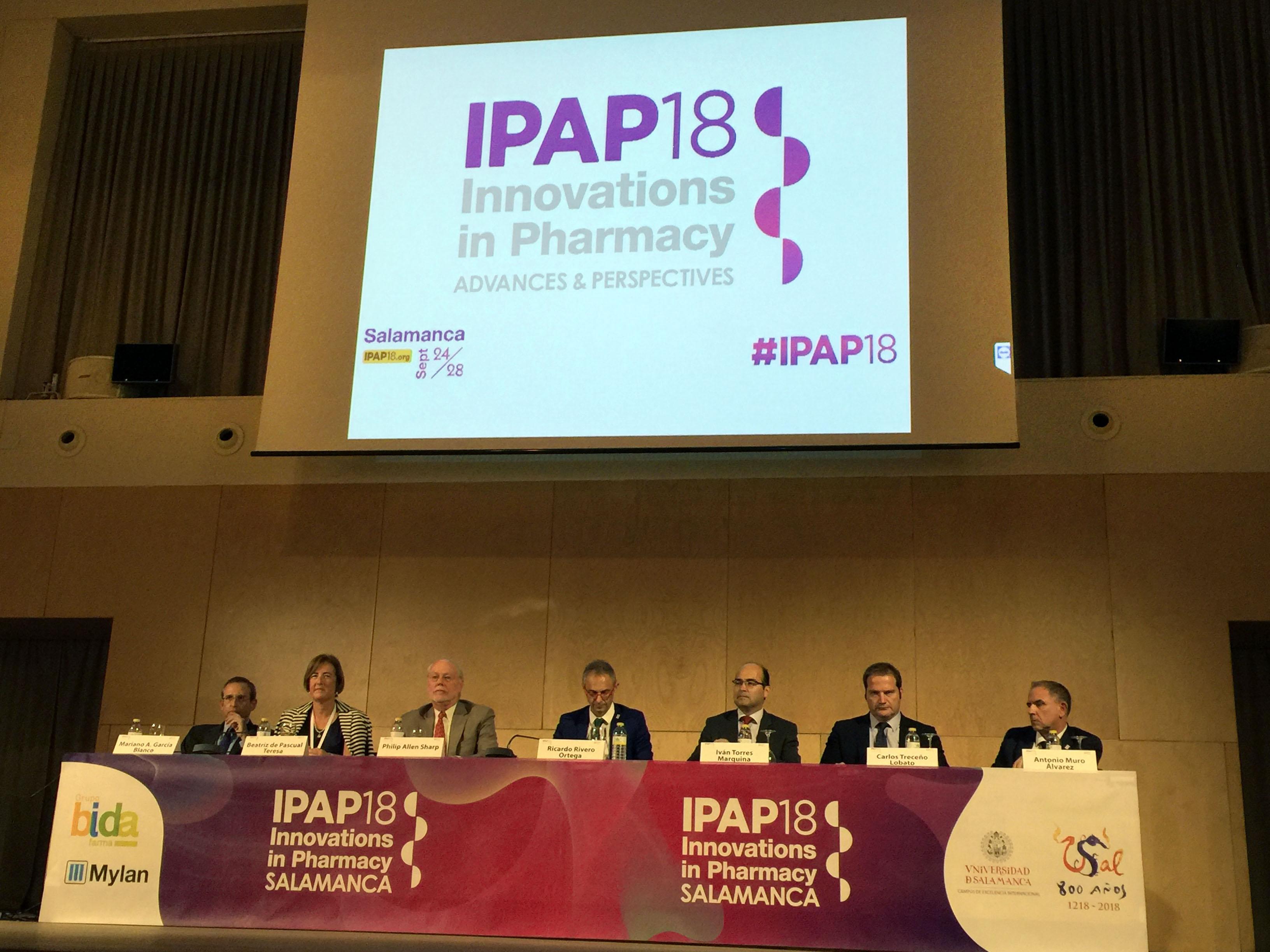 Mesa de honor ceremonia de apertura IPAP18