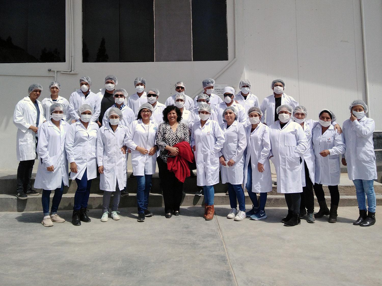 Visita a Fábrica de Alimentos Huacariz